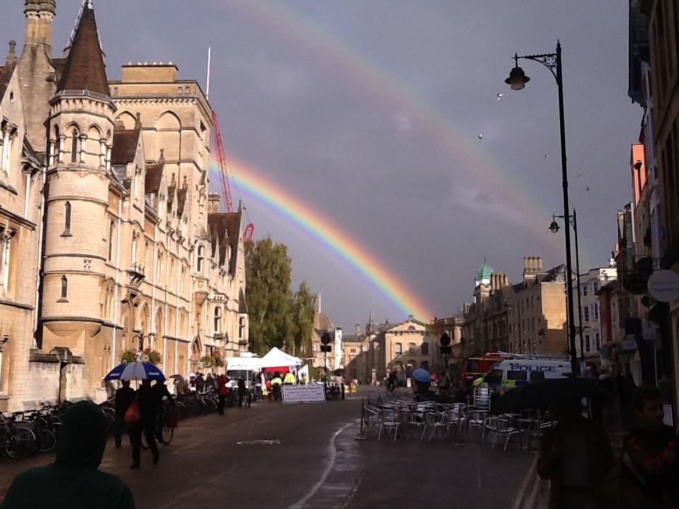 The beauty of a Rainbow: Oxford