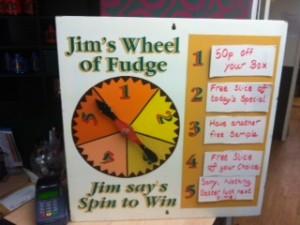wheel of fudge
