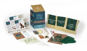 Kids in the Kitchen: make at home fudge kits