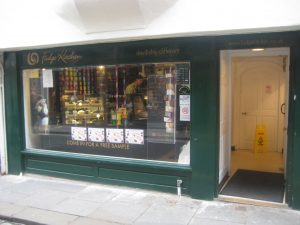 The York Fudge Kitchen shop - opened 1985