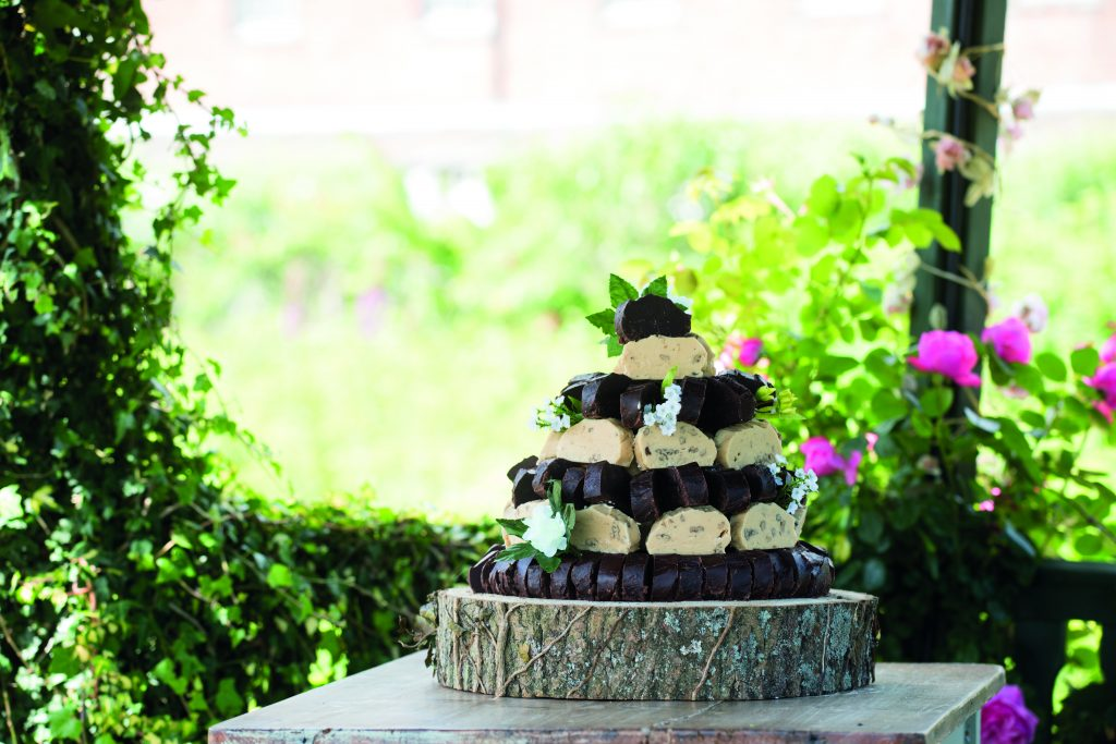 The last thing you want to do is fudge your wedding day … or is it?