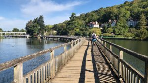 The original Bridge over Troubled Water ...