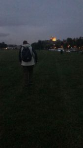 70 miles later - the beacon of Windsor Castle ...