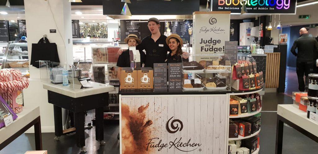 Absolutely Fabulous! Fudge Kitchen Pops-Up in Harvey Nichols Knightsbridge …
